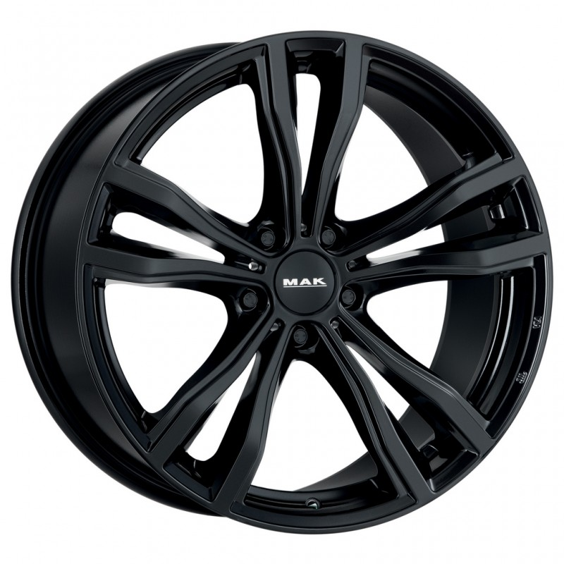Диски R21 5x112 10,0J ET50 D66,6 MAK X-Mode Gloss Black