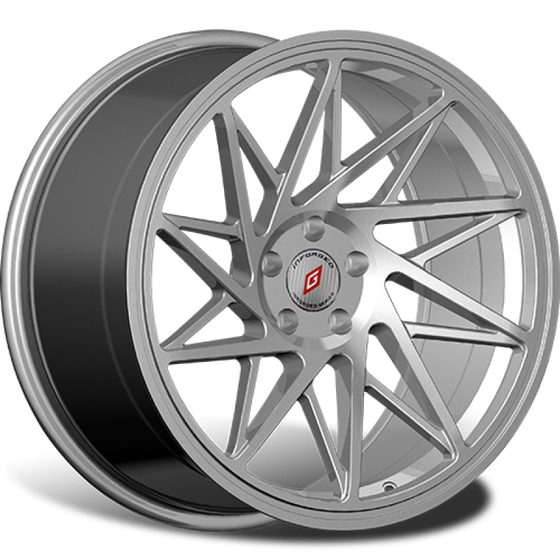 Диски R19 5x114,3 8,5J ET45 D67,1 INFORGED IFG35 Silver лого IFG (S+RED, 64 мм)