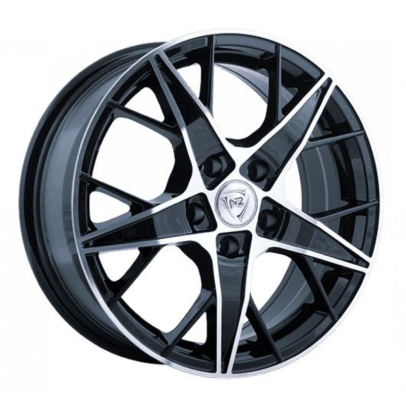 Диски R15 5x112 6J ET47 D57,1 NZ Wheels F-29 BKF