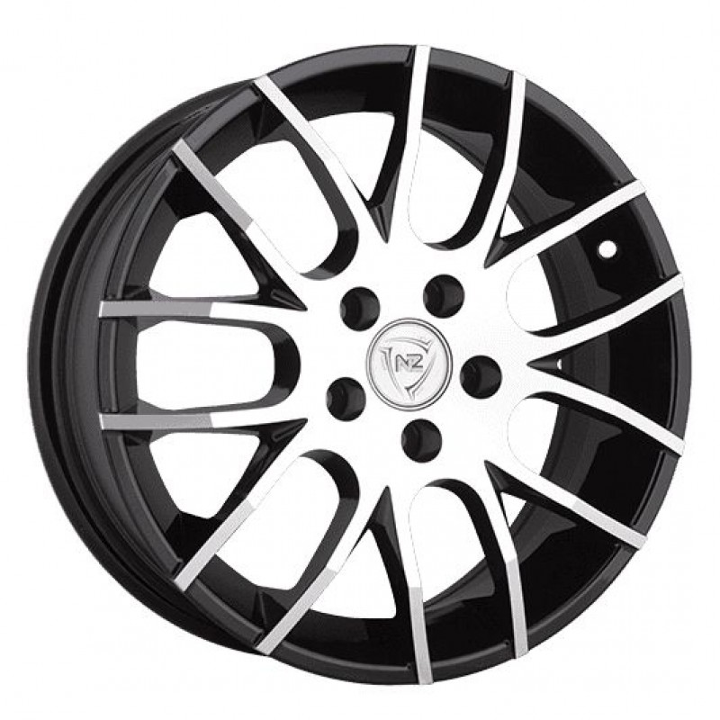 Диски R15 5x105 6J ET39 D56,6 NZ Wheels F-38 BKF