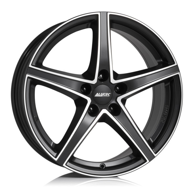 Диски R20 5x120 8,5J ET35 D72,6 Alutec Raptr Racing Black Front Polished